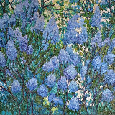 Lilac 2014 72x92 oil canvas