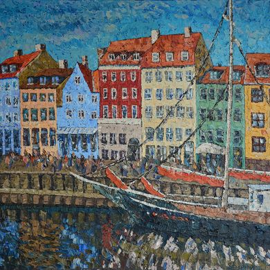 Copenhagen 2013 65x81 oil canvas