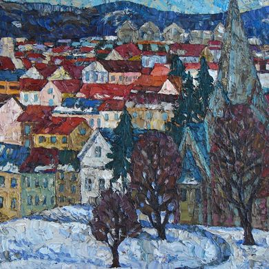Oslo 2011 50x61 oil canvas